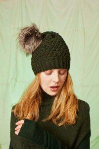 Bonnet tricot laine Gordon Lang Yarns
