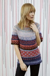 modele tricot femme lang yarns