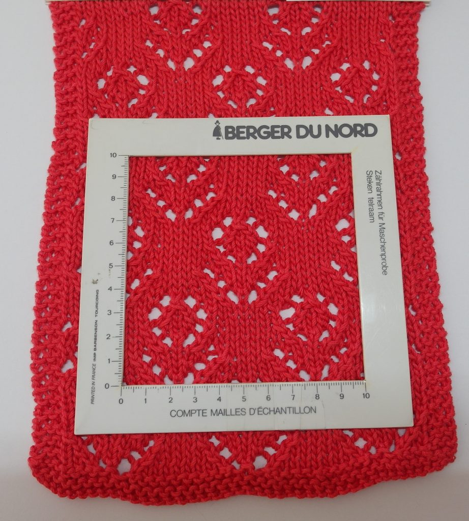 Echantillon tencel cotton Katia rouge
