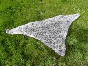 chale crochet mohair luxe