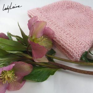 Bonnet tricoté layette
