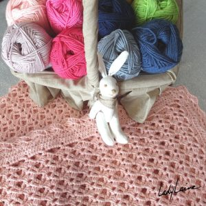 laine chashmerino for babies et couverture crochet