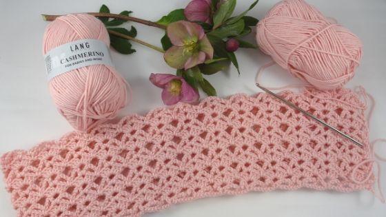 Couverture crochet bébé