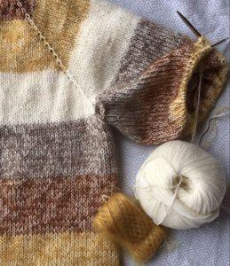 tricot et aiguille circulaire