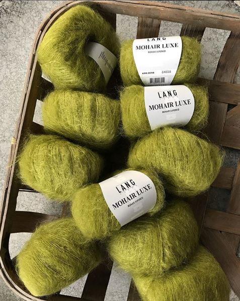 mohair luxe laine
