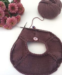 tricot aiguille circulaire merinos