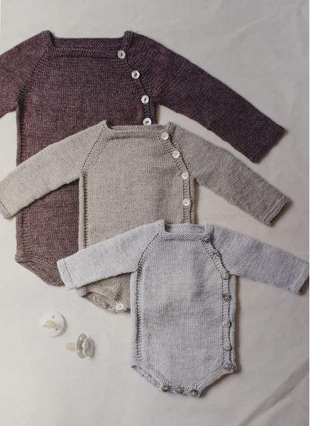 barboteuse livre des amours de tricot pour les tout-petits