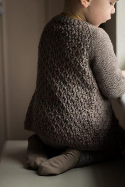 gilet sif livre des amours de tricots pour les tout-petits