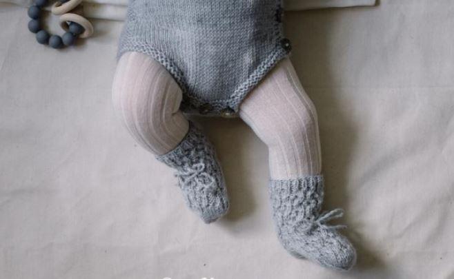 Chaussettes balder livre tricot