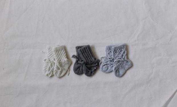 chaussettes pour layette