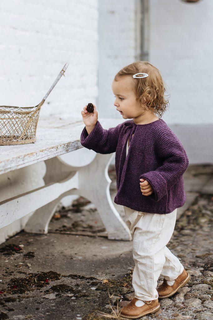 livre des amours de tricots pour les tout-petits gilet freja