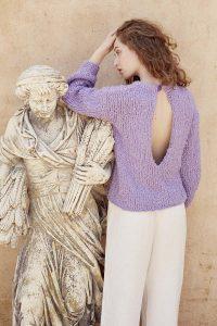 pull femme coton liberty