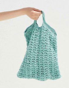 modele crochet sac