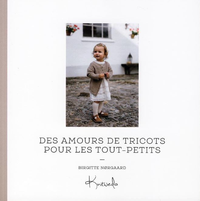 couverture livre des amours de tricots pour les tout-petits