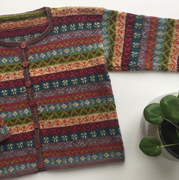 enfant gilet tricot