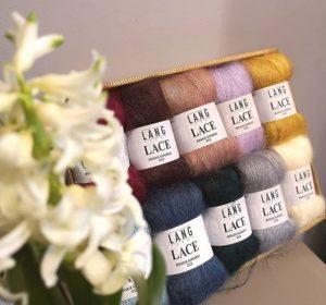 soie et mohair lang yarns lace