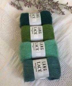 mohair et soie lace lang yarns