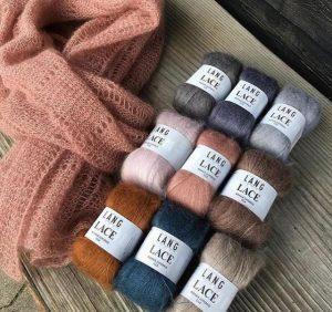 lang yarns mohair et soie