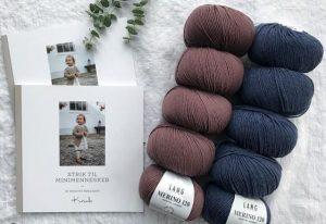 merino 120 et livre des amours de tricot pour les tout-petits