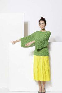 modele tricot femme coton bio