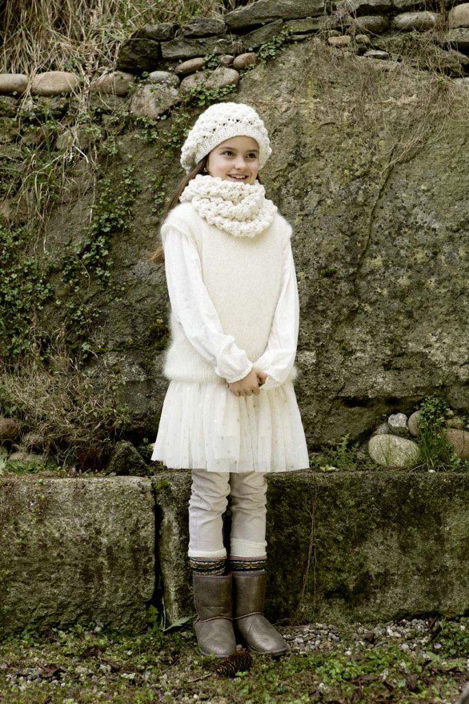 débardeur enfant tricot