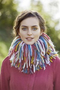 comment crocheter snood