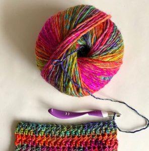 crocheter en laine