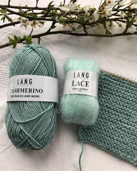 tricoter des mailles à l'endroit