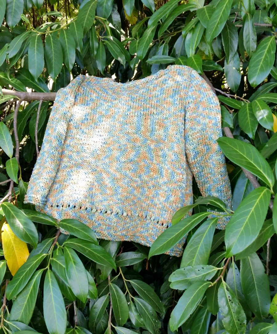 pull femme coton batik anny blatt