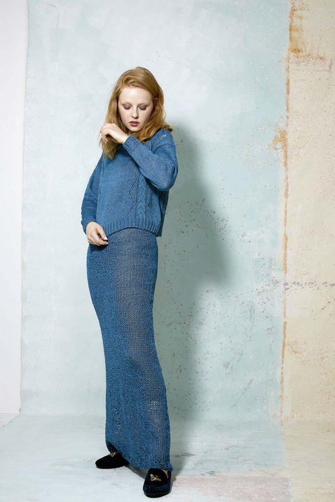 jupe longue lang yarns