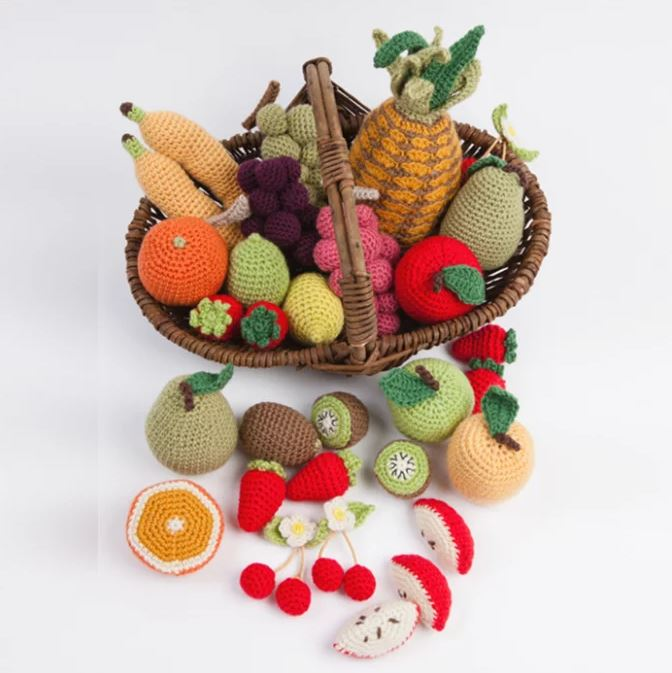 legumes et fruits crochet