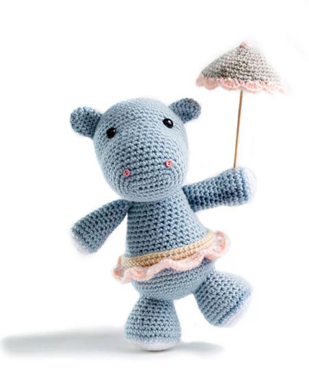 hippopotame crochet