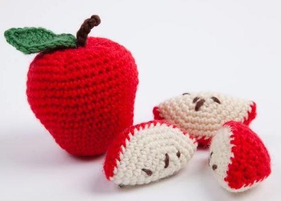 pomme crochet amigurumi