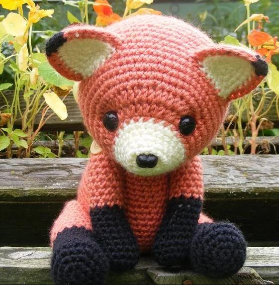 crochet renard