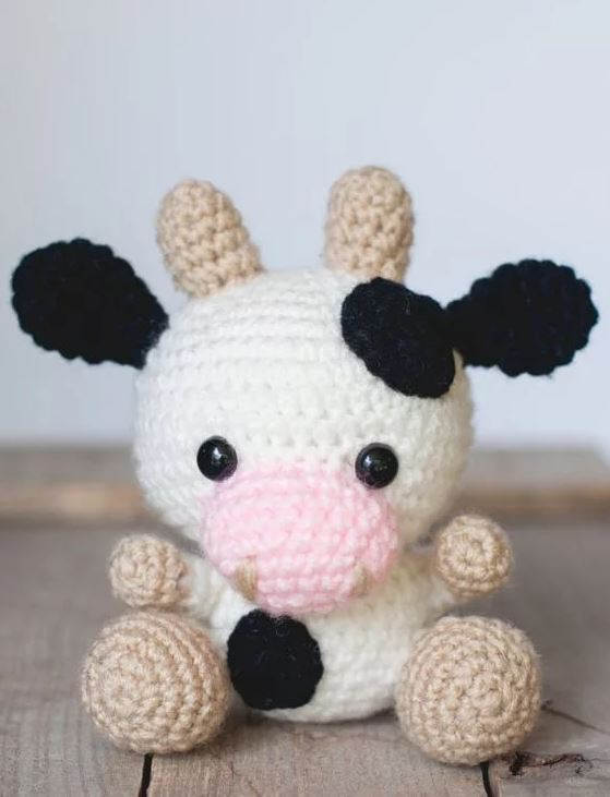 vache crochet