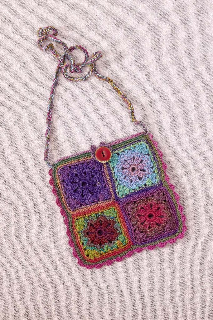 granny pochette crochet