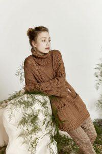 robe tricot femme