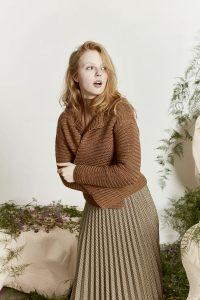 veste tricot femme lang yarns
