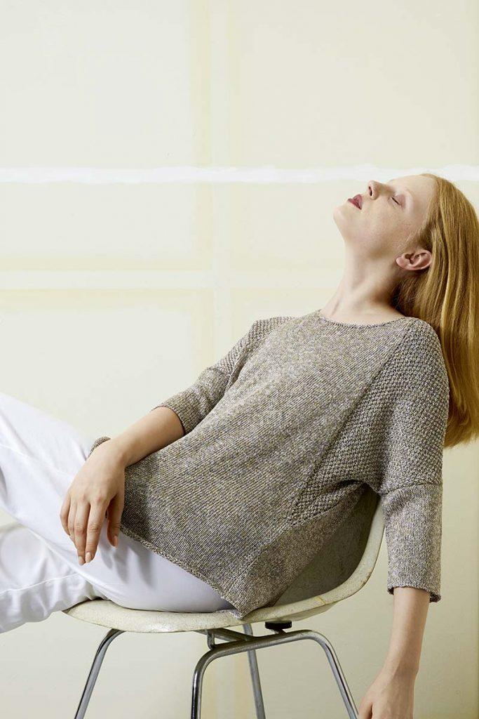 pull femme en mulberry silk soie lang yarns