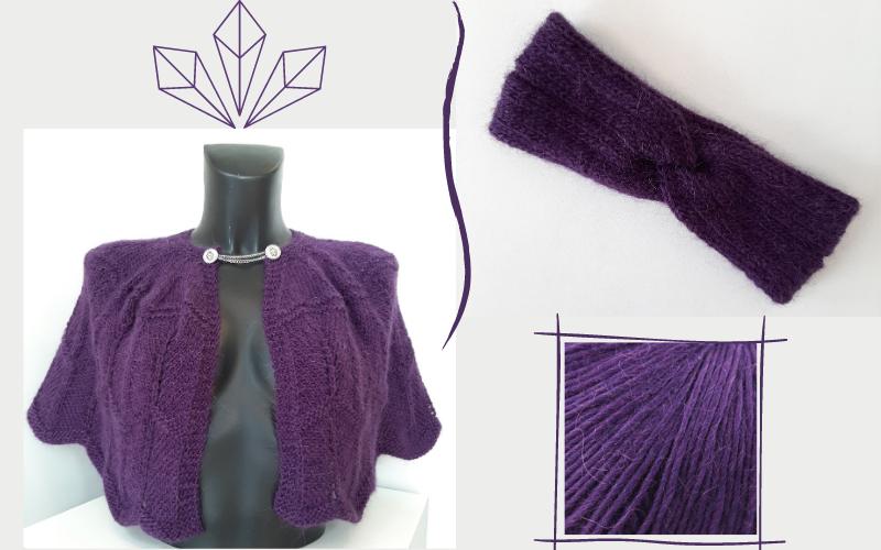 chauffe-épaules en laine creative focus worsted rowan