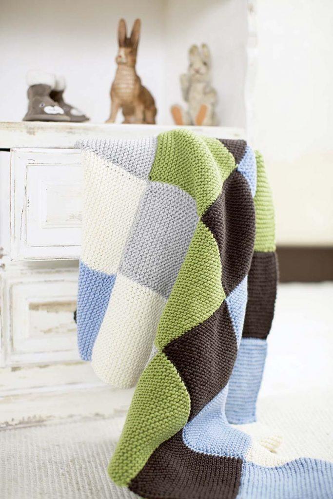 plaid tricot