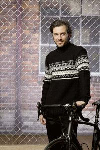 pull homme tricot jacquard