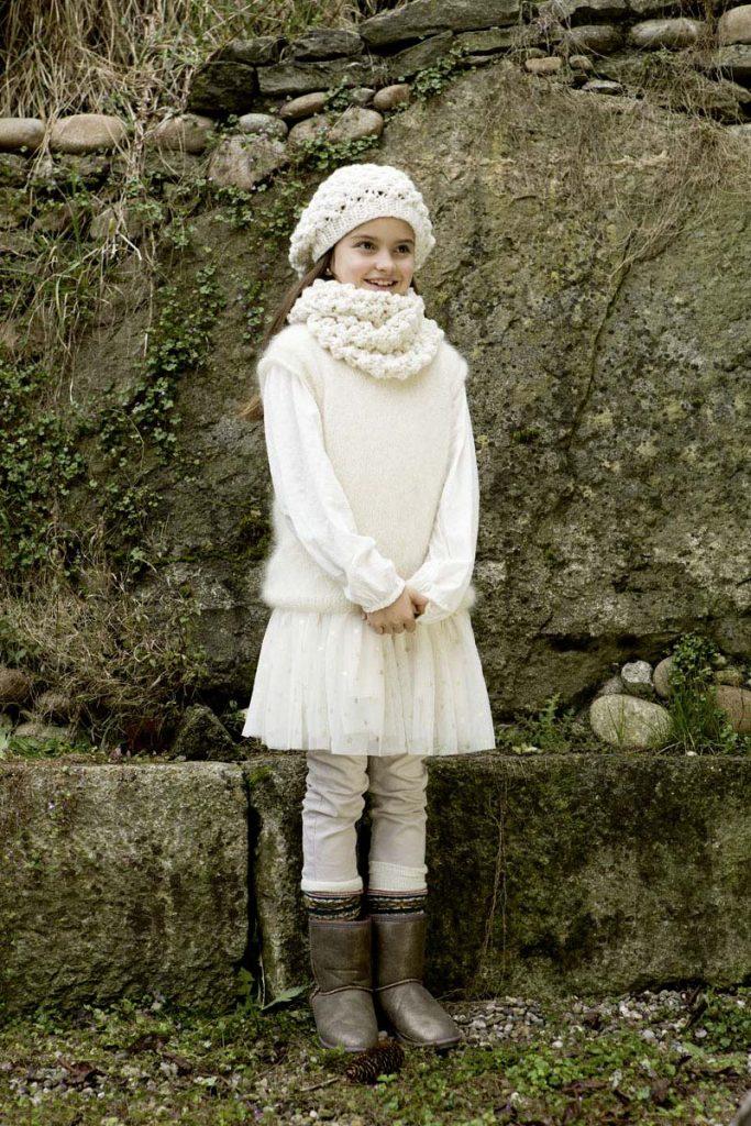 bonnet et snood cashmere big lang yarns
