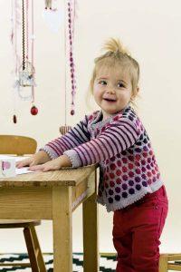 tricot jacquard enfant