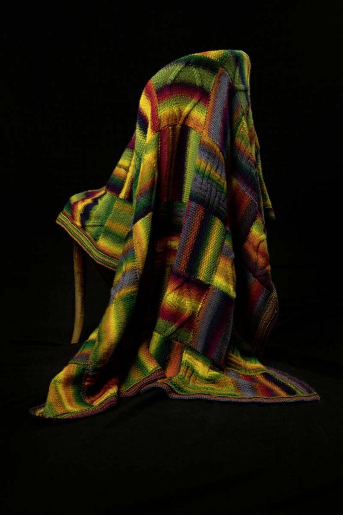 tricoter une couverture