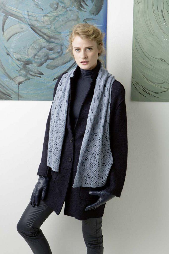 écharpe laine cachemire