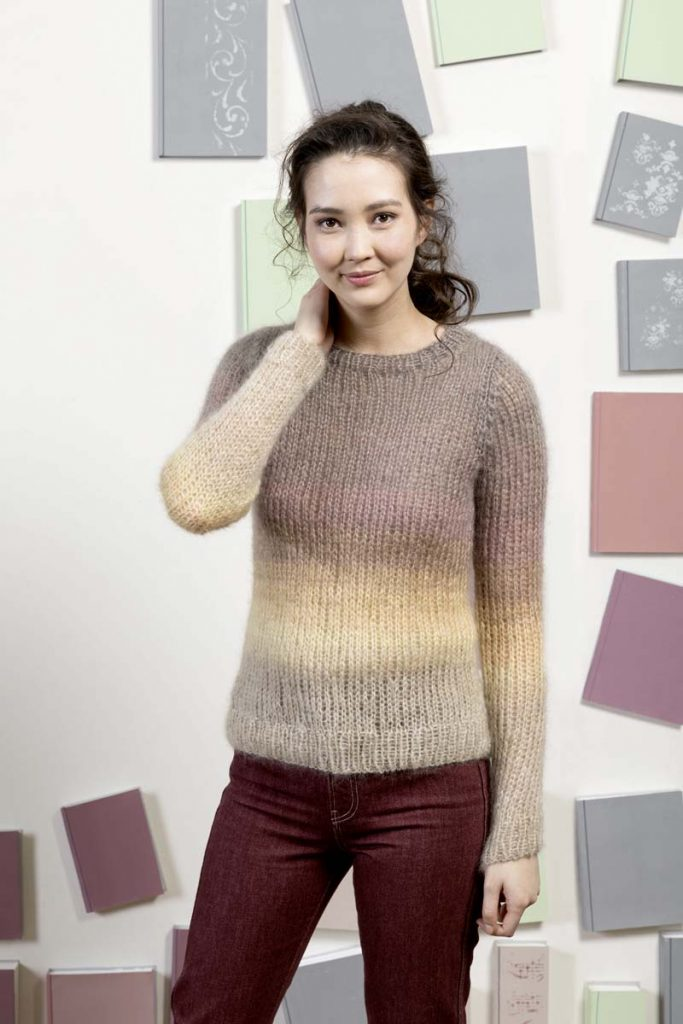 pull mohair luxe