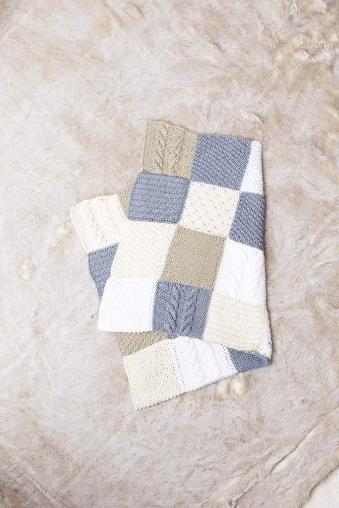 couverture layette en laine