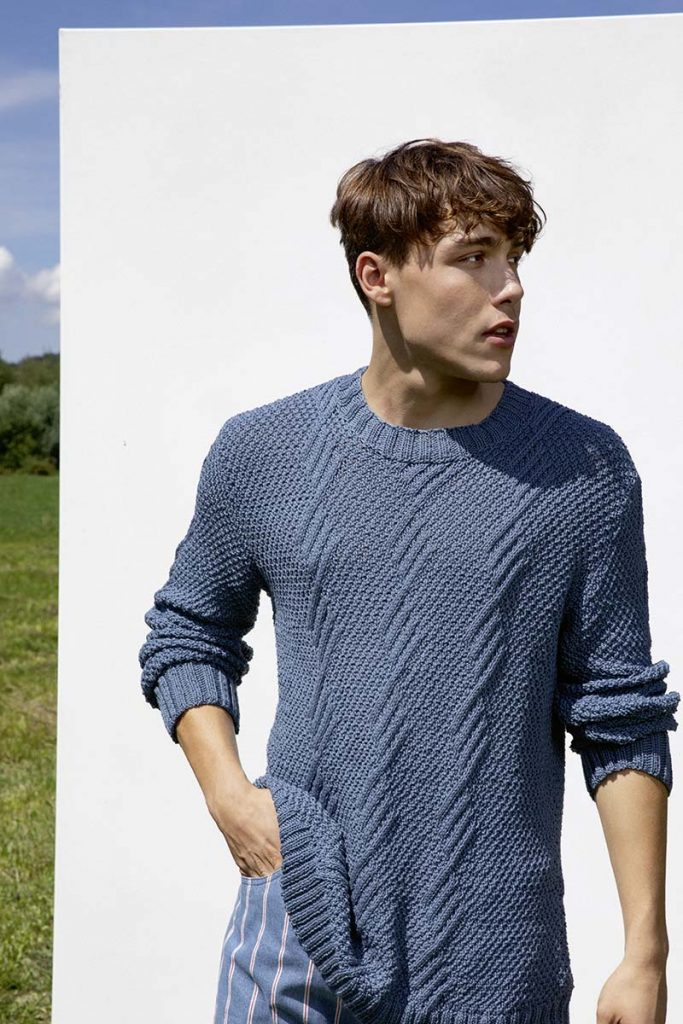pull homme lang yarns