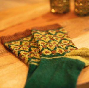 tricoter en rond des chaussettes